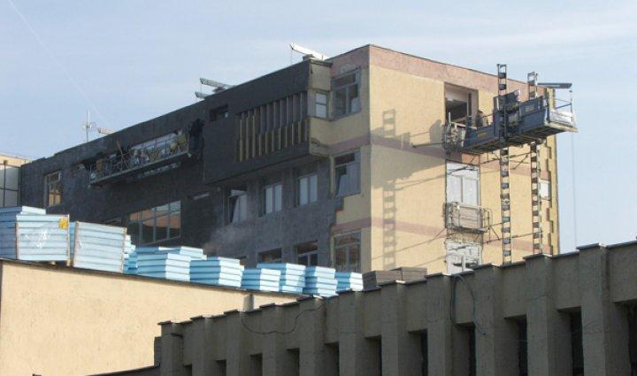 Átfogó energetikai fejlesztés Siófok Város Önkormányzat Kórház-Rendelőintézet központi tömbjében