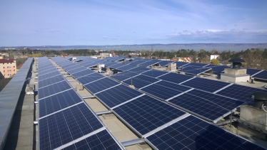 Megvalósult a naperőmű rendszer kiépítése